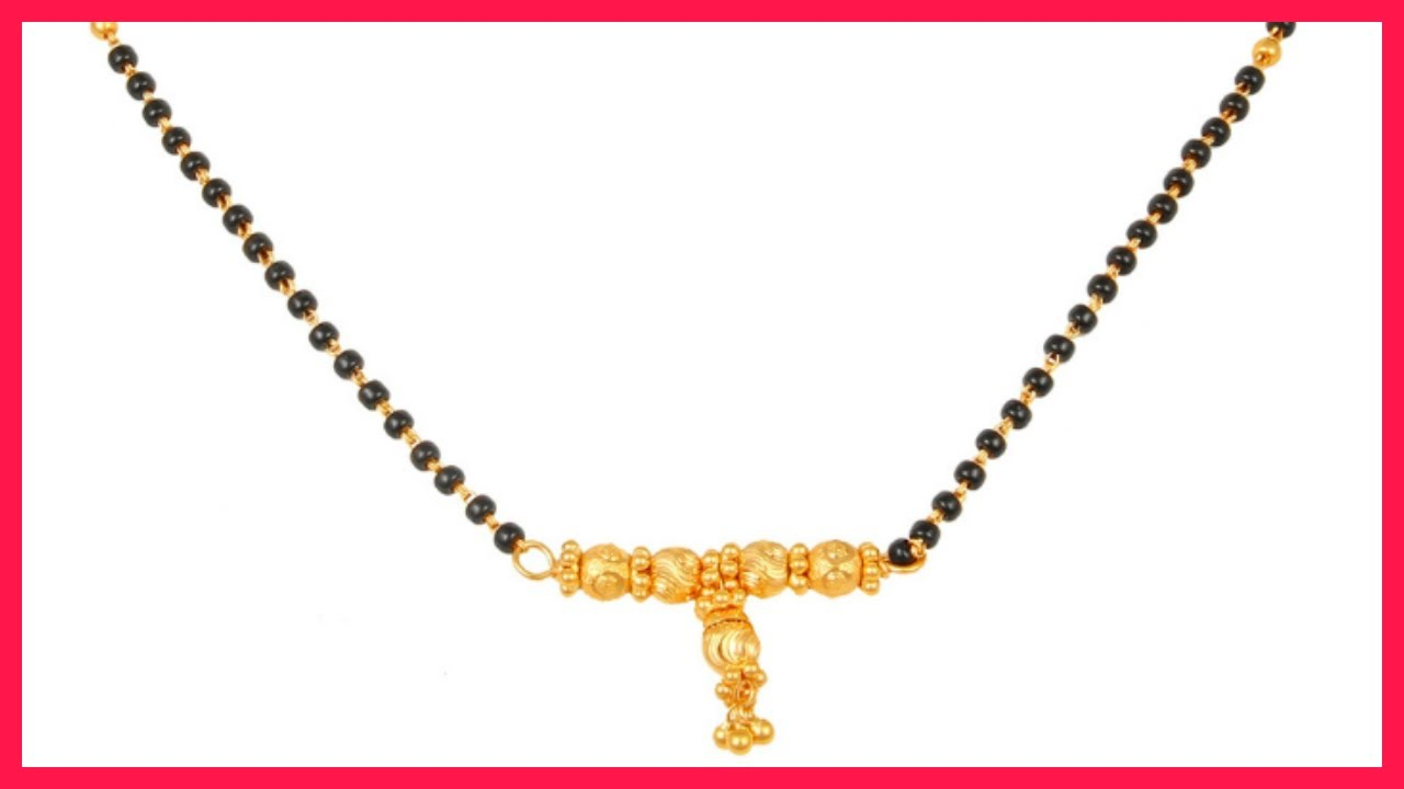Latest Gold Mangalsutra Designs By Tanishq Jewellery - YouTube