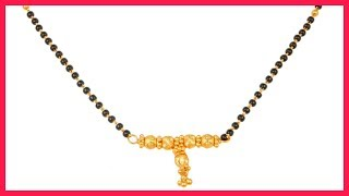 Latest Gold Mangalsutra Designs By Tanishq Jewellery