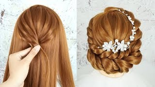 Latest Bridal Bun Hairstyles 2019 - How To Make A Beautiful Hairstyle For Wedding | Quick Hairstyles