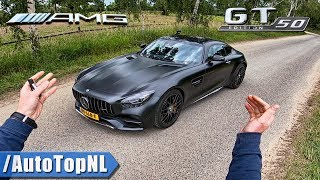 Mercedes AMG GT C Edition 50 | 1 of 500 | REVIEW POV Test Drive on ROAD & AUTOBAHN by AutoTopNL