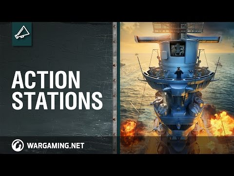 World of Warships. Action Stations
