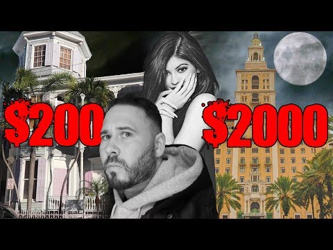 $200 VS $2000 Haunted Hotel Room - Kylie Jenner Slept In My Room