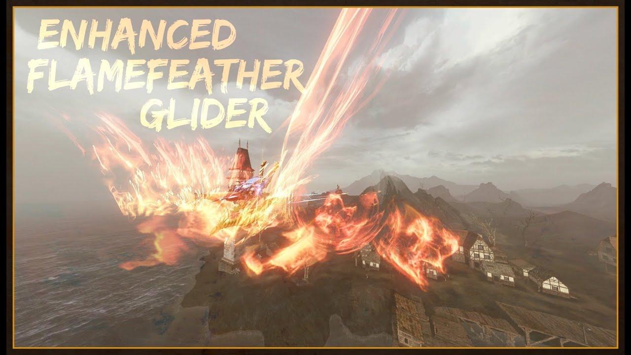 ArcheAge - ENHANCED FLAMEFEATHER GLIDER [Showcase + Abilities]