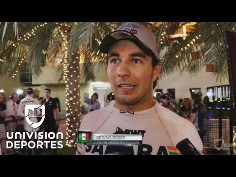 """Sergio Pérez: """"La clave fue alejarnos de los contactos para no arruinar la carrera"""""""
