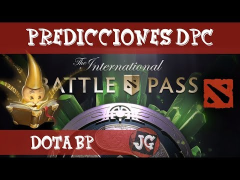 Dota 2 TI8 | Predicciones Dota Pro Circuit 2018 | Battle Pass | Donde hacer las predicciones?