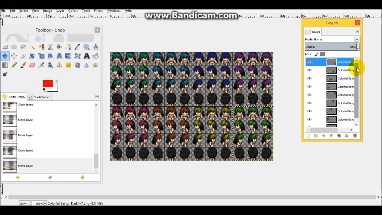 Character Sheet Tutorial in GIMP :: rpgmaker net