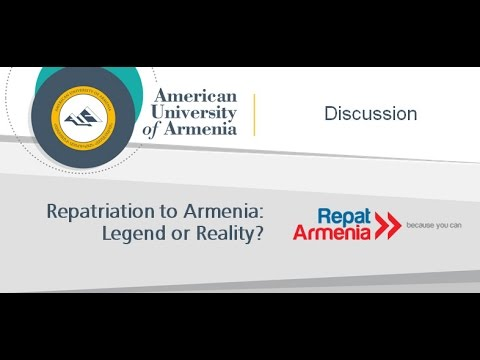 Repatriation to Armenia: Legend or Reality?