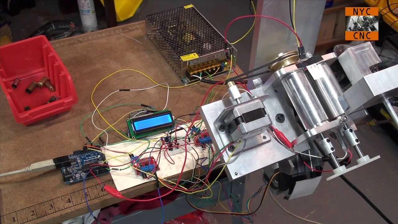 Arduino Stepper Amp Servo Sorting Machine Video On Design