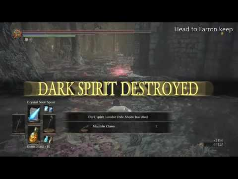 DARK SOULS™ III Getting the Pale Shade set.