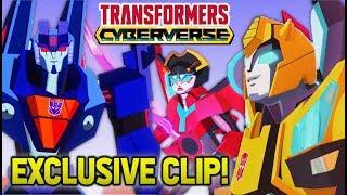 Transformers Cyberverse Footage: Thundercracker Fight Clip BREAKDOWN & Reaction