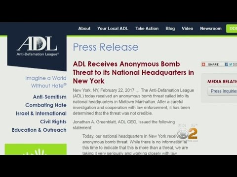 NY ADL Offices Receive Bomb Threat Amid Rise In Anti-Semitic Attacks