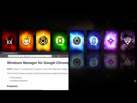 Windows Manager for Google Chrome™ - Browser Extension