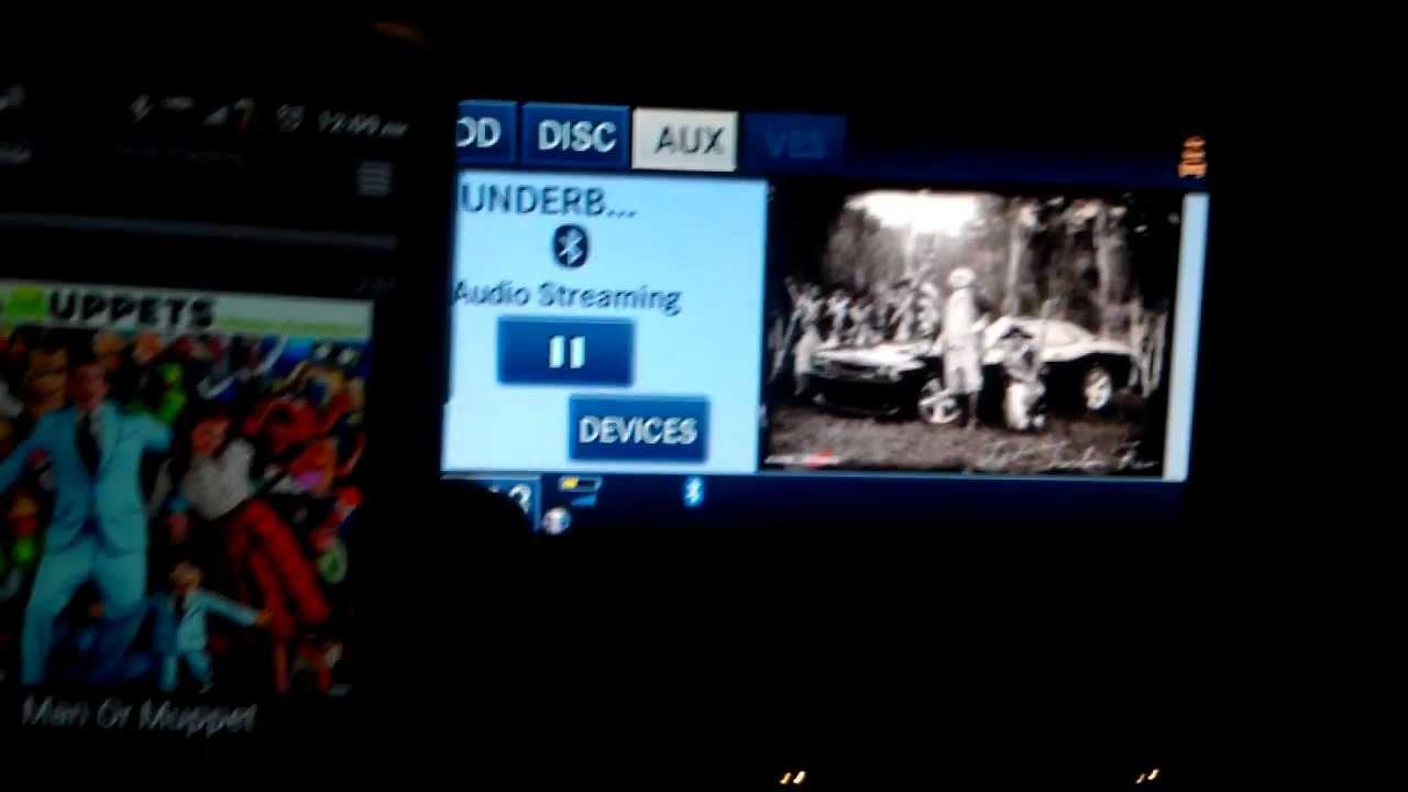 Streaming Audio with Bluetooth (RHR Mygig 730n w/lockpick)