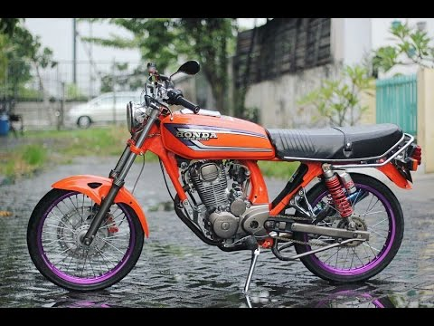 Gl 100 Modif Jadi Cb Indonesia Gas Luurrrr Youtube