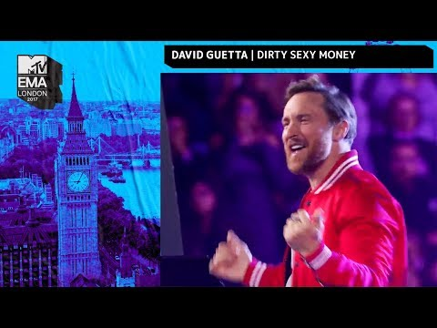 David Guetta, Charli XCX & French Montana Perform 'Dirty Sexy Money' | MTV EMAs 2017
