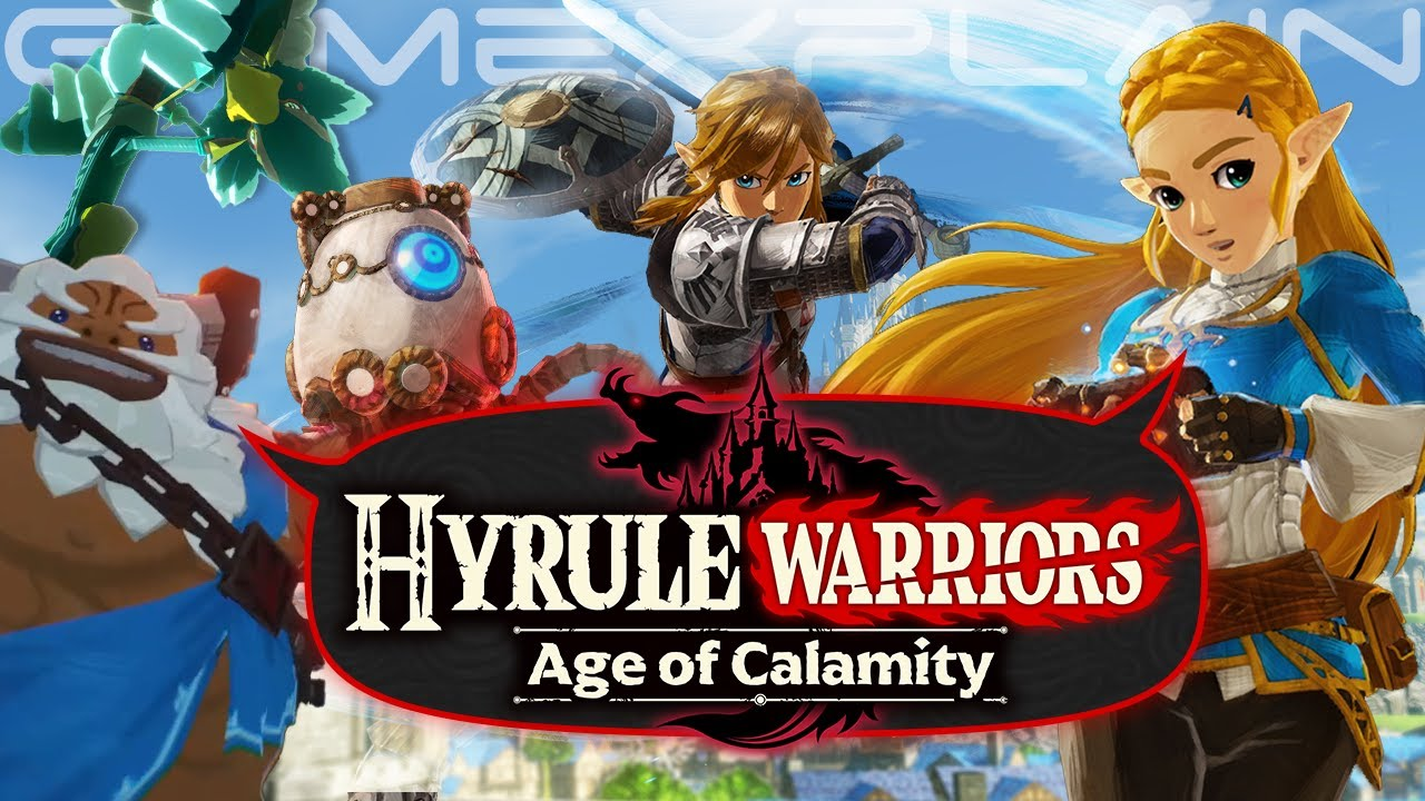 Hyrule Warriors Age Of Calamity Reveal Discussion Plot Speculation Playable Champions Zelda Youtube