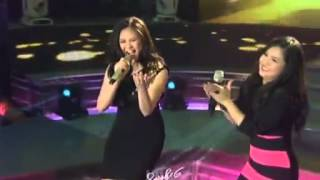 Sarah Geronimo sings Come On In Out of the Rain (Chorus)