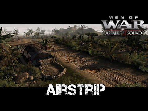 Airstrip - Men of War: AS2 Co-op Gameplay - Sir Hinkel's Mission