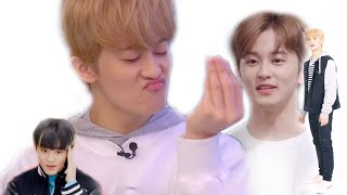 Mark Lee is a disaster but thats why you like him