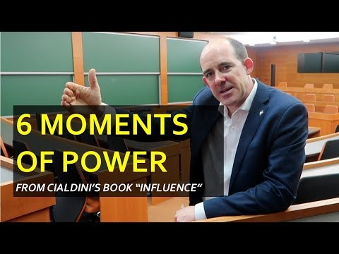 """Influence: The 6 Moments of Power, How to Frame your Requests for More """"Yes"""""""