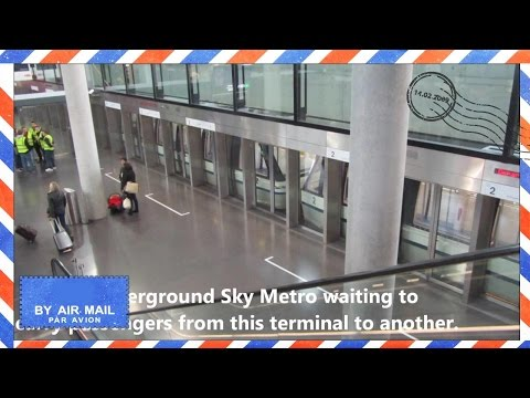 Zurich Airport - Transfer Train at Zurich Airport called Sky Metro - Zürich Kloten Airport