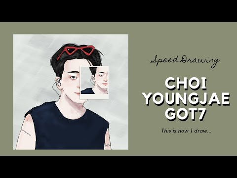 [Speed Drawing] This is how I draw Choi Youngjae GOT7