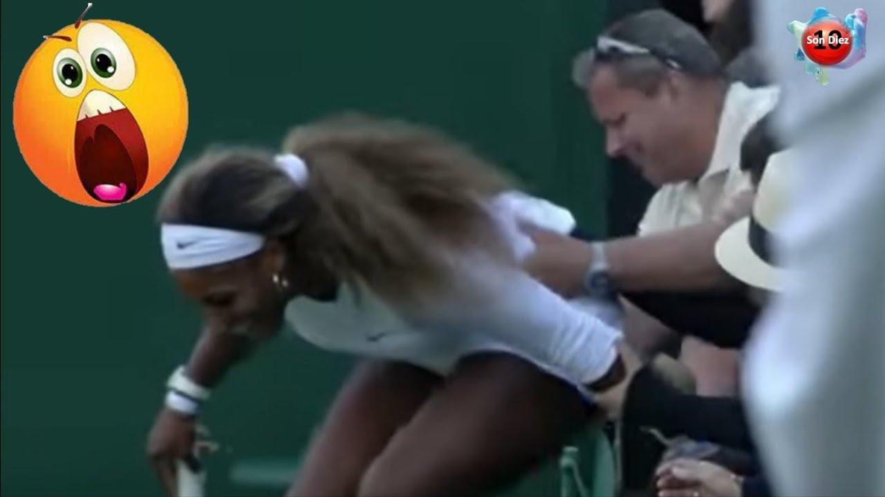 10 momentos inapropiados del tenis mostrados en tv en vivo #2