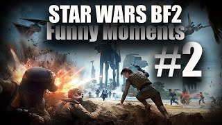 Star Wars Battlefront 2 Funny Moments #2