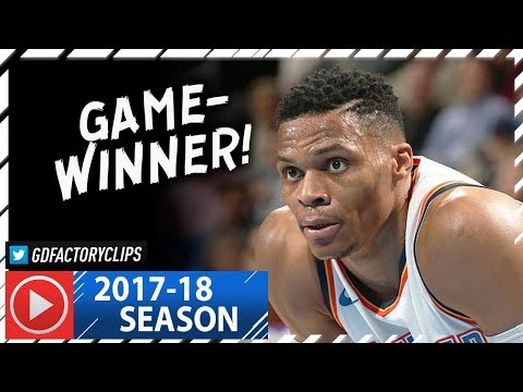 Russell Westbrook Full Highlights vs Nets (2018.01.23) - 32 Pts, Game-WINNER!