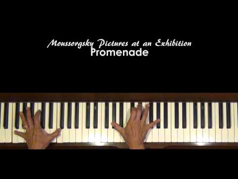 Mussorgsky Pictures at an Exhibition Promenade Piano Tutorial