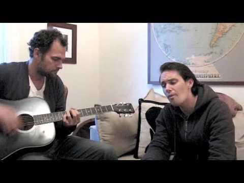 Milosh practicing with Paul