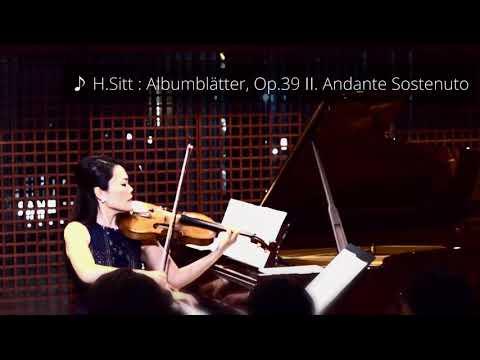 Sitt : Albumblätter 〜 Ⅱ. Andante Sostenuto