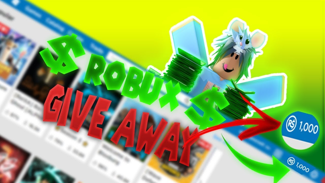 1 THOUSAND ROBUX GIVEAWAY ! 1K SUBS CELEBERATION I FREE ROBUX !