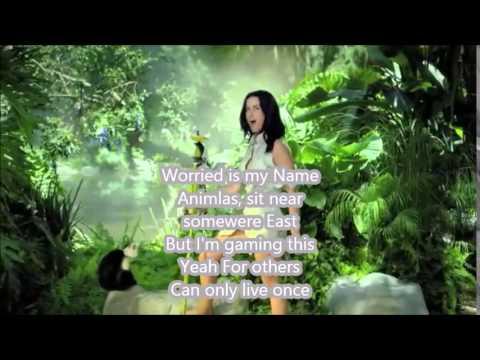 Katy Perry   Roar reversed With lyrics