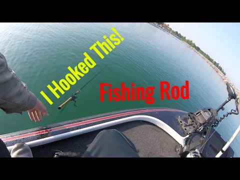 I Caught A Fishing Rod While Catching Giant Smallmouth! Grand Traverse Bay