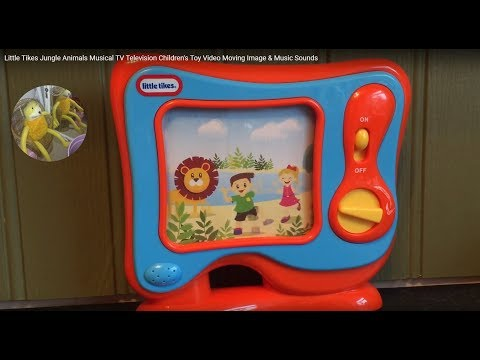 Little Tikes Jungle Animals Musical TV Television Children's Toy Video Moving Image & Music Sounds