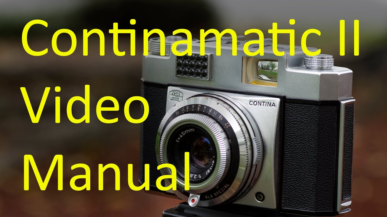 Zeiss Ikon Continamatic II Video Manual