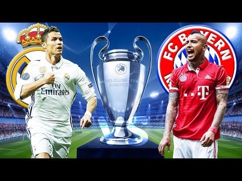 REAL MADRID vs FC BAYERN MÜNCHEN 4:2 Champions League Viertelfinale Rückspiel