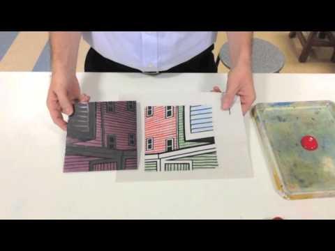 Reductive Printmaking (Linocut 4 Colour + White)