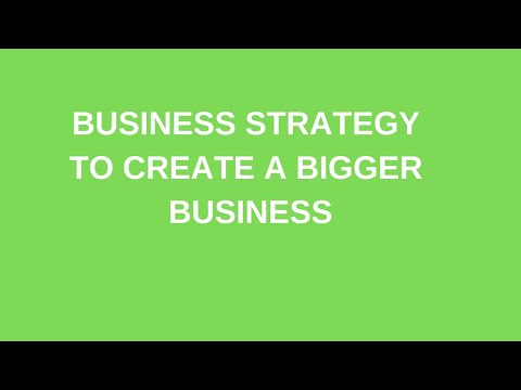 BUSINESS STRATEGY TO CREATE A BIGGER BUSINESS IN HINDI