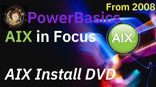 PowerBasics Install AIX from CD/DVD