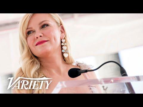 Kirsten Dunst - Hollywood Walk of Fame Ceremony - Live Stream