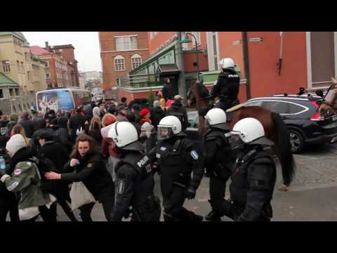 Tampere mielenosoitukset 21.10.2017 / Tampere protests