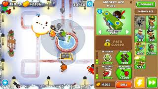 Bloons TD 6 - Medium, Military Only, Winter Park, (NO MONKEY KNOWLEDGE)