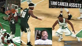 1,000 Career Assists - NBA 2K20 My Career EP 84