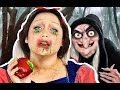 SNOW WHITE POISONED MAKEUP TUTORIAL!