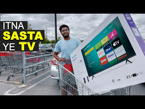 TV Shopping In USA From COSTCO, America's Biggest Wholesale Market