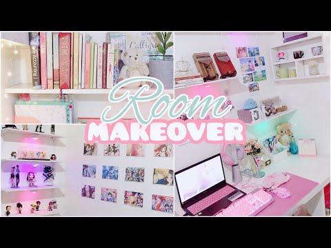 Room Makeover Philippines | Anime ✧ Pastel Colors ✧ Kalimba ✧ Shopee Finds🌈