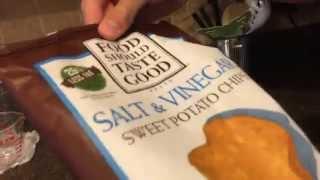 Food Review: Salt And Vinegar Sweet Potato Chips (food Should Taste Good Chips)