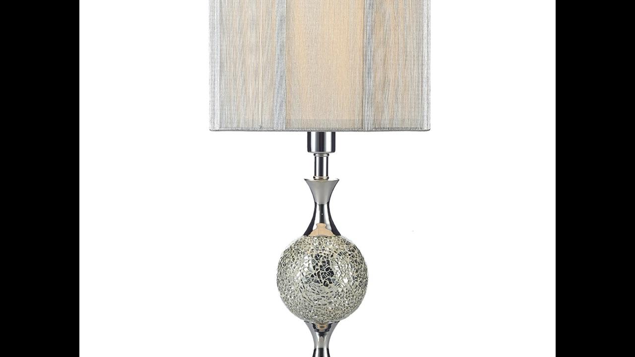 Dar lighting elsa table lamp range w shades included youtube dar lighting elsa table lamp range w shades included aloadofball Choice Image